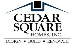 Cedar Square Homes - Custom Home Builder Anne Arundel County Logo