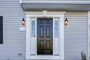 Curb Appeal: Choosing a Front Door Color for Your Custom Home
